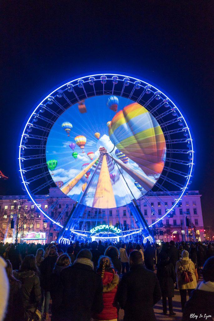 Fête des Lumières 2016 place Bellecour