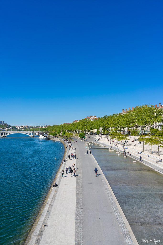 Rive gauche des Berges du Rhône