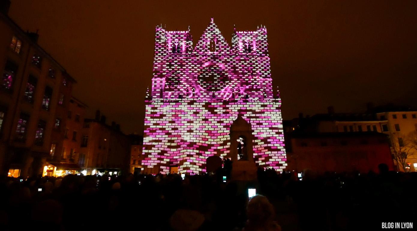 Fête des Lumières 2017 – Vidéo Cathédrale Saint Jean