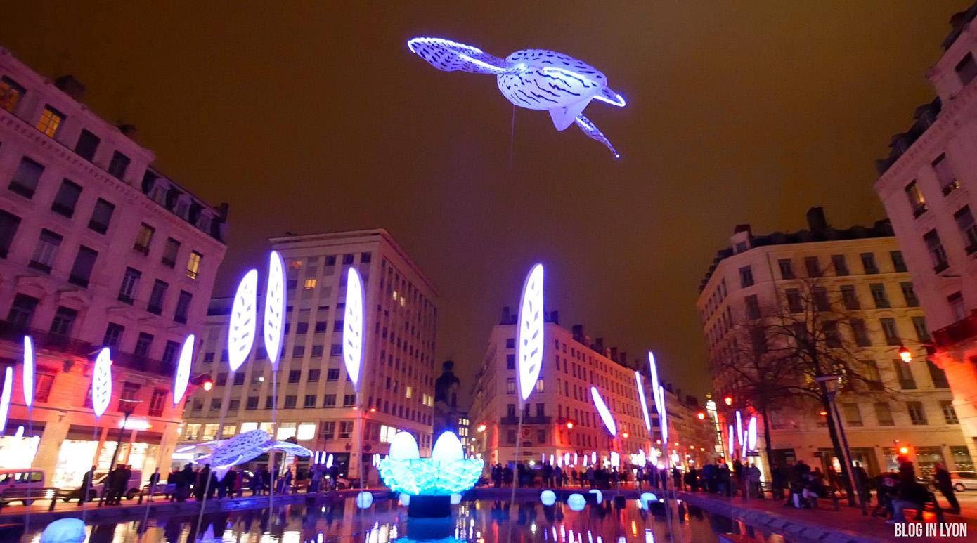 Fête des Lumières 2017 - Vidéo Place de la République
