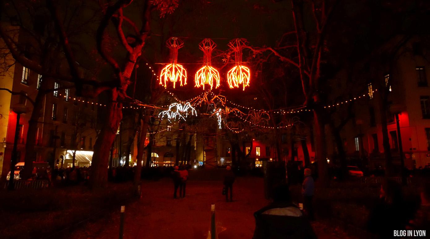 Fête des Lumières 2017 - Vidéo Place Sathonay