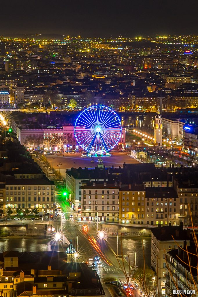 Grande roue place Bellecour | Blog In Lyon