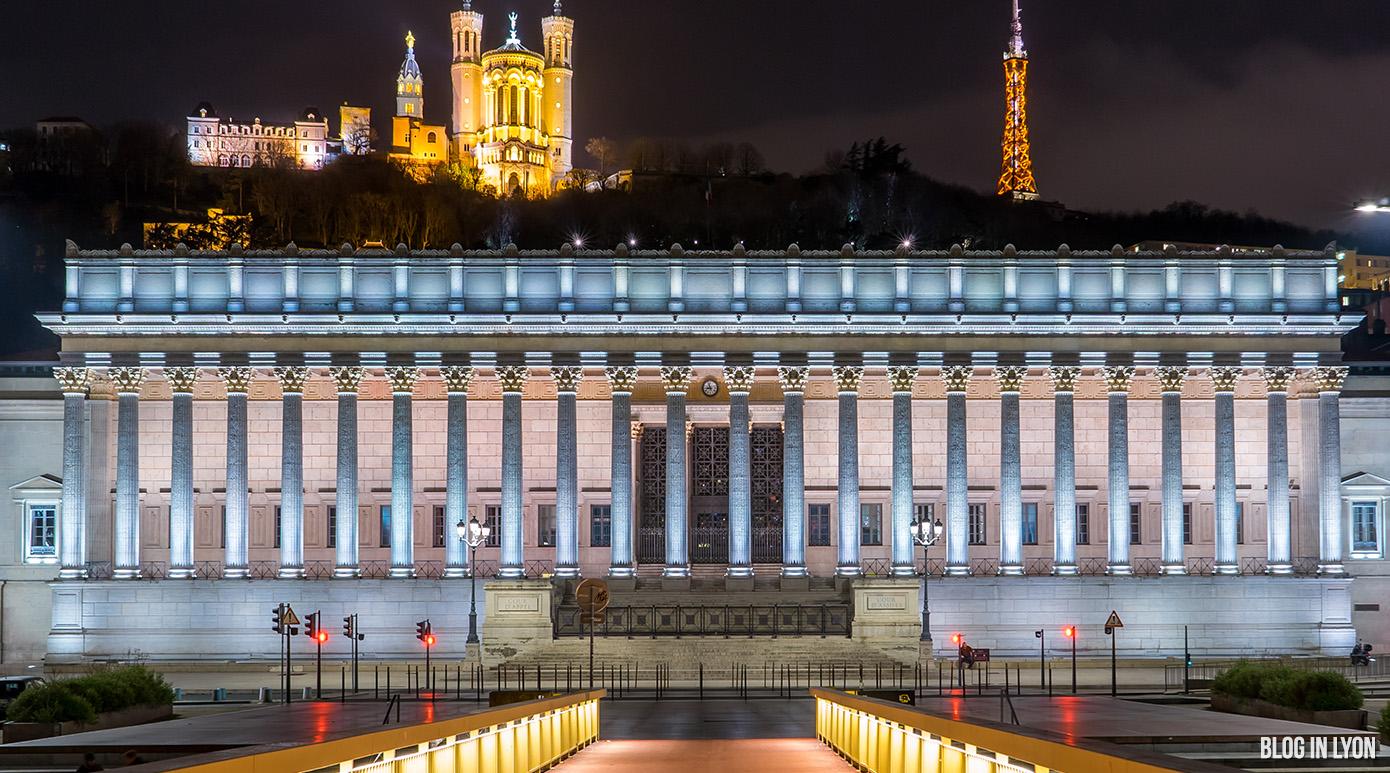 La Basilique Notre Dame et le Palais de Justice | Blog In Lyon