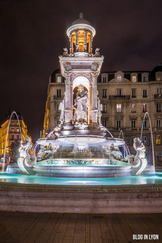Fontaine Place des Jacobins | Blog In Lyon - Webzine Lyon
