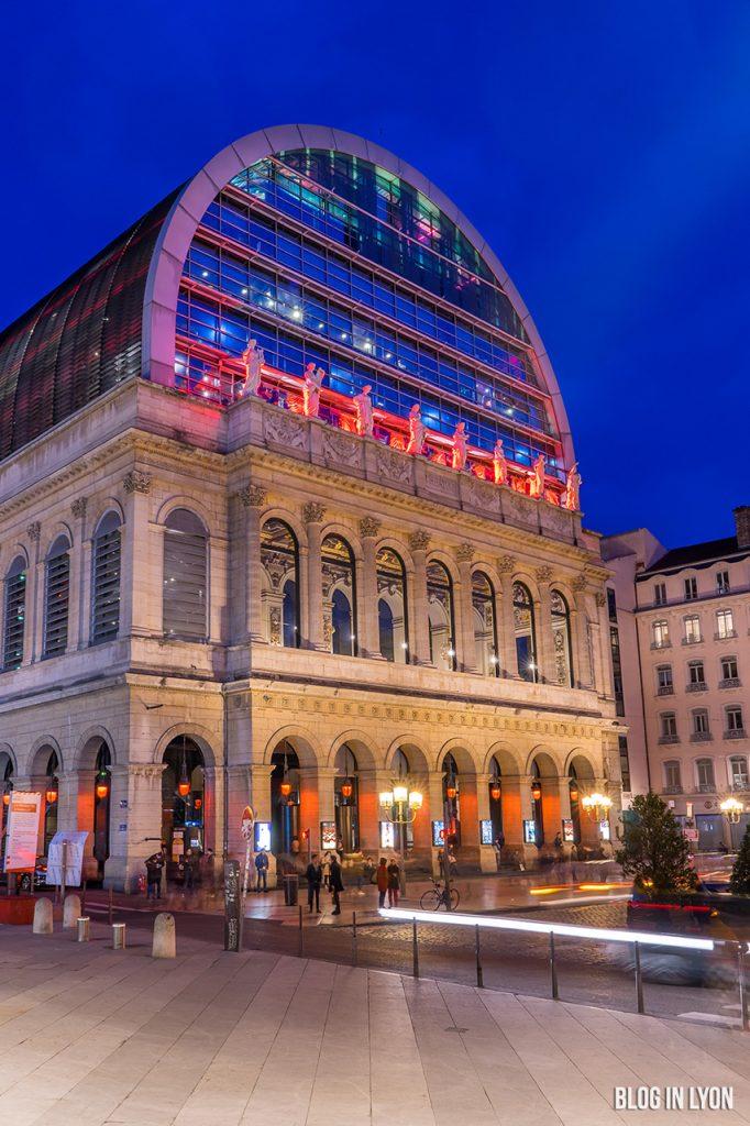 Opéra de Lyon la nuit   Blog In Lyon - Webzine Lyon