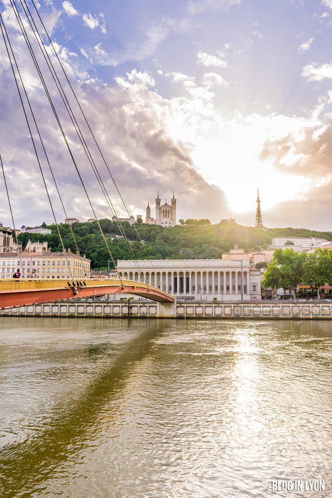 Coucher de soleil Fourvière | Blog In Lyon