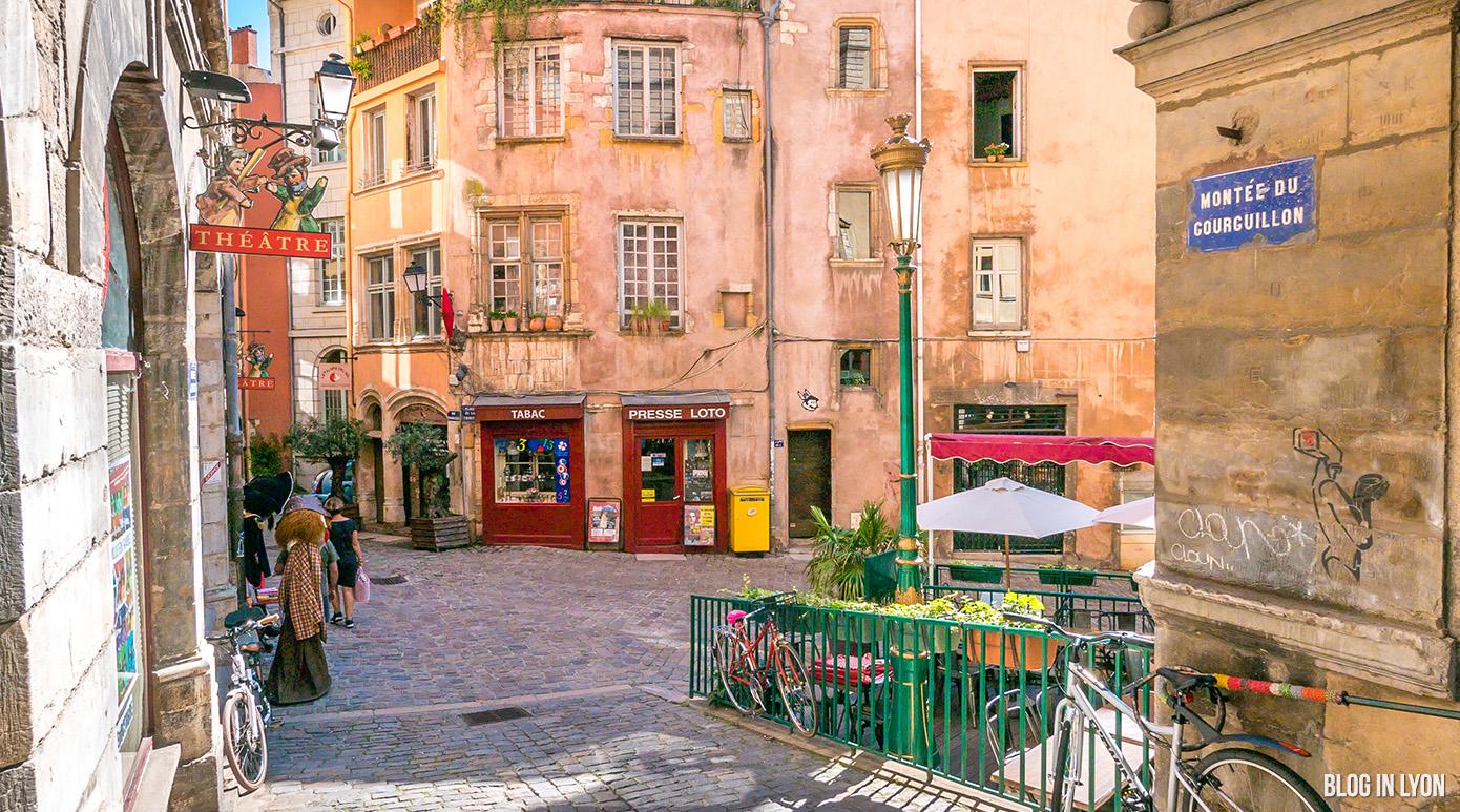 Montée du Gourguillon - Place de la Trinité | Blog In Lyon