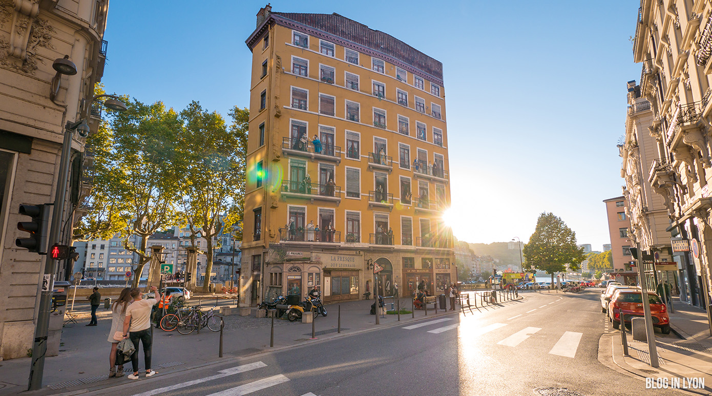 Fresque des Lyonnais - Fond ecran Lyon | Blog In Lyon - Webzine