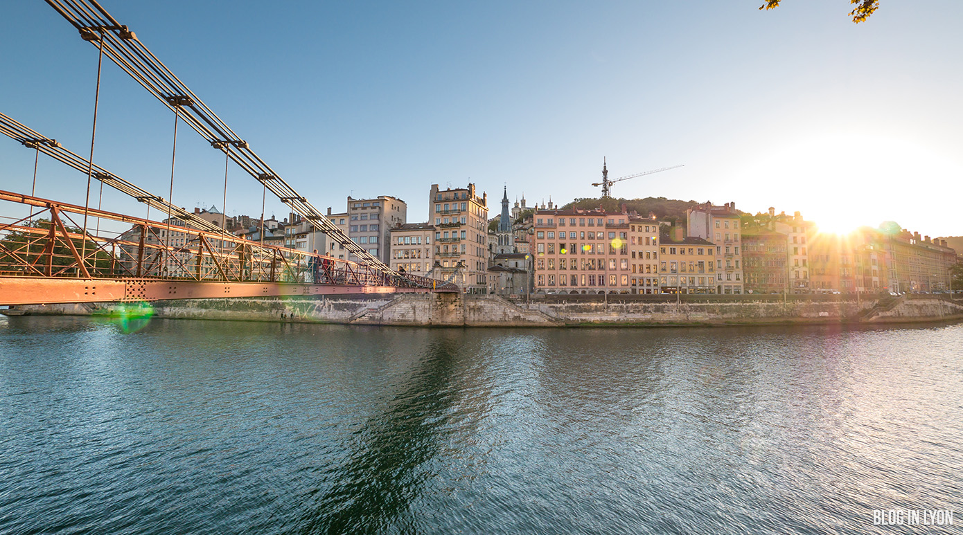 Passerelle Saint Vincent | Blog In Lyon - Webzine