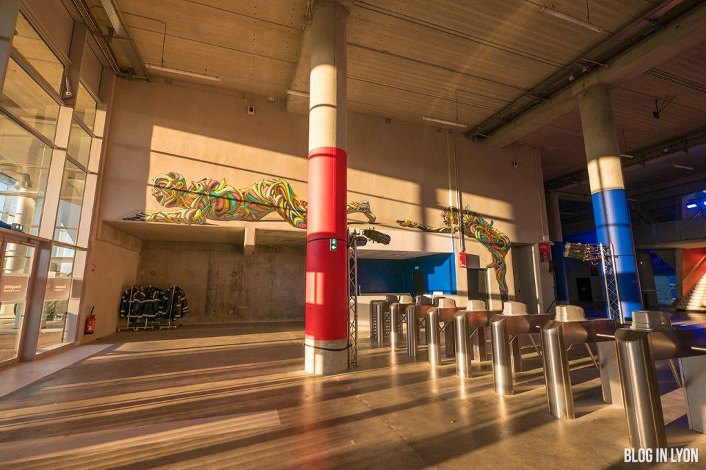 Offside Gallery - Groupama Stadium Street Art | Blog In Lyon