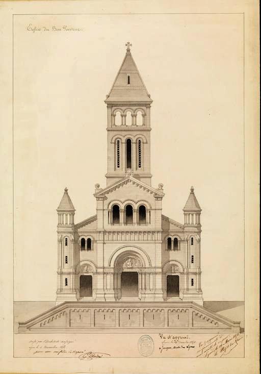 Secrets de Lyon - Eglise Bon Pasteur   Blog In Lyon