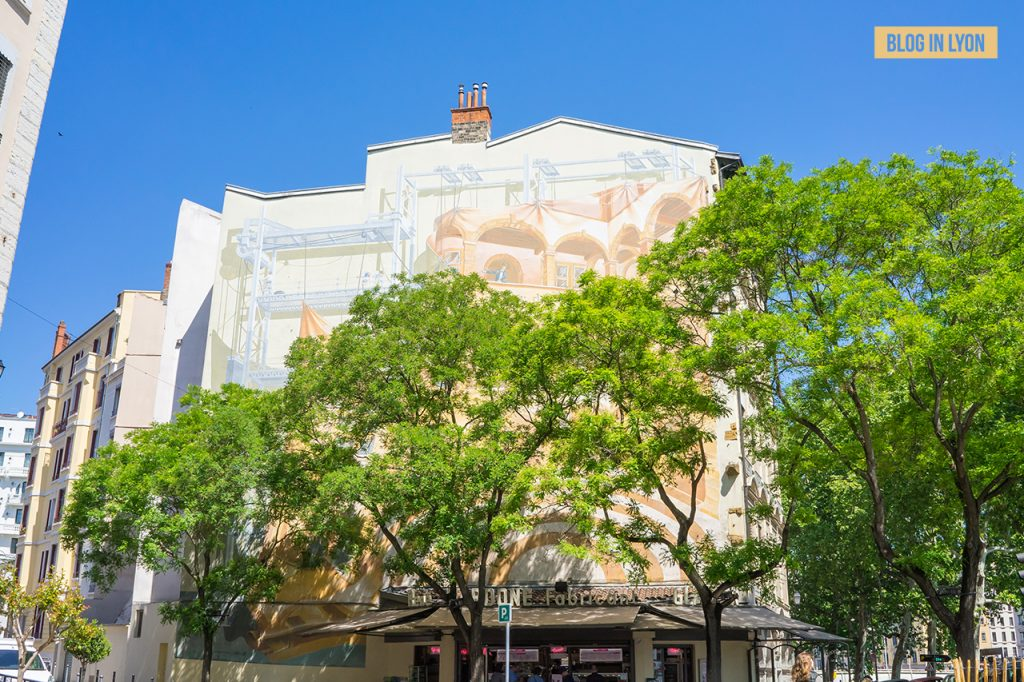 Visiter Lyon - Fresques et murs peints - Fourvière, Presqu