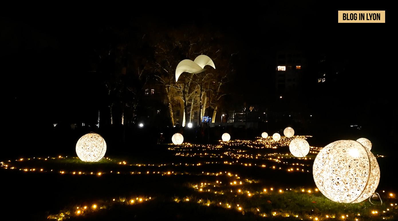 Fête des Lumières 2018 - Vidéo Parc de la Tête d'Or | Blog In Lyon