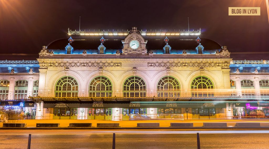 Gare des Brotteaux - Fond écran Lyon | Blog In Lyon