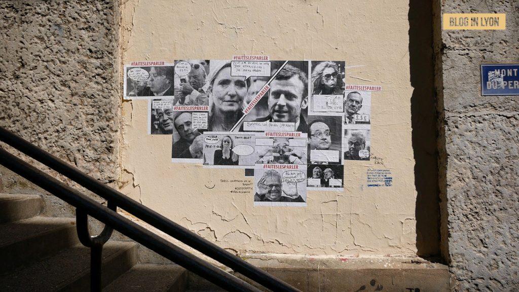 Oeuvre Faites les parler - Blog In Lyon