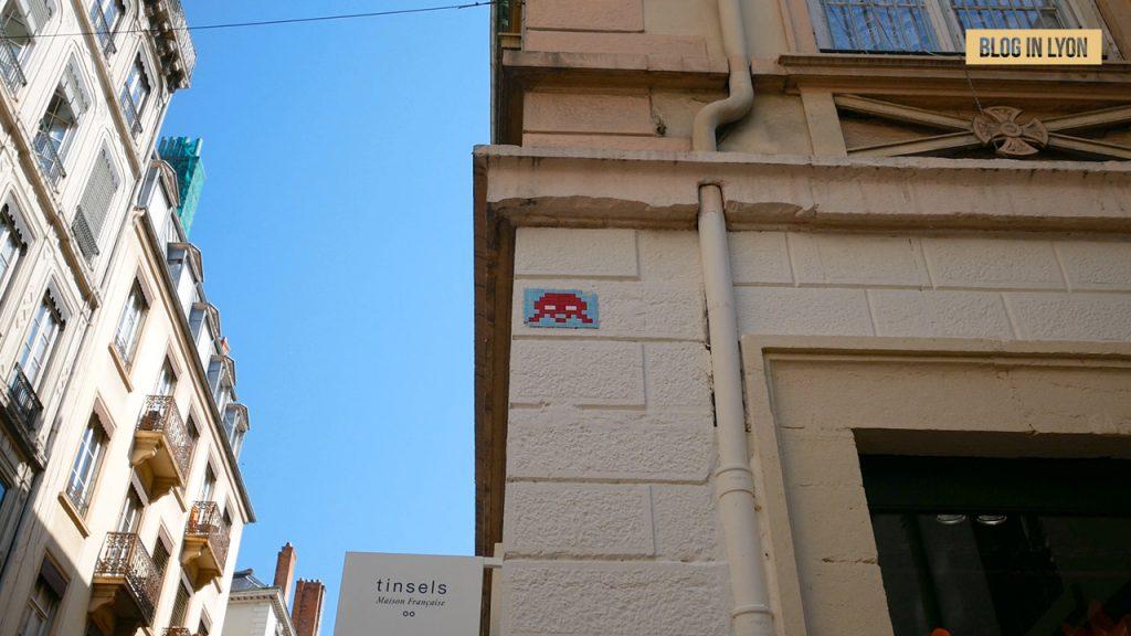 Oeuvre Invader - Blog In Lyon