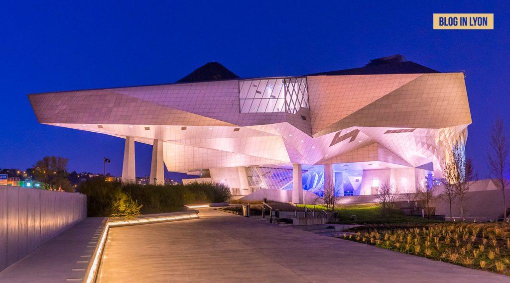 Le Musée des Confluences - Fond écran Lyon | Blog In Lyon