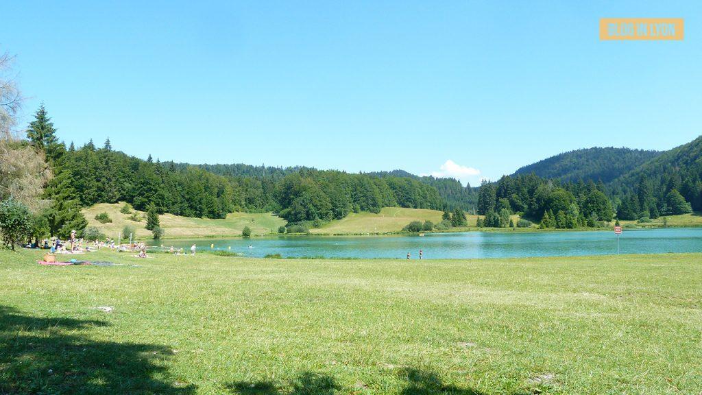 Lac de Génin - Baignades autour de Lyon | Blog In Lyon