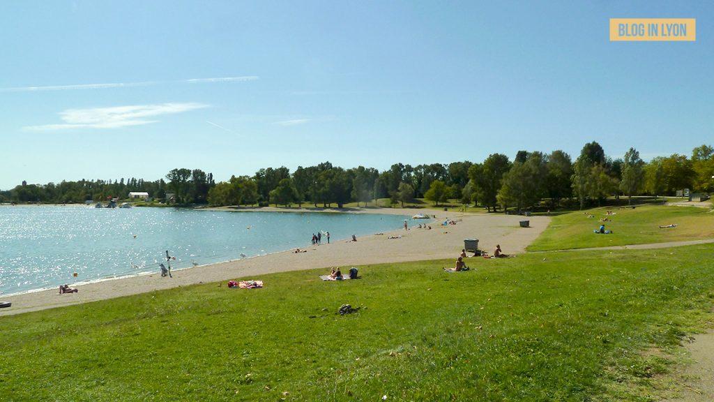 Grand Parc de Miribel Jonage - Baignades autour de Lyon | Blog In Lyon