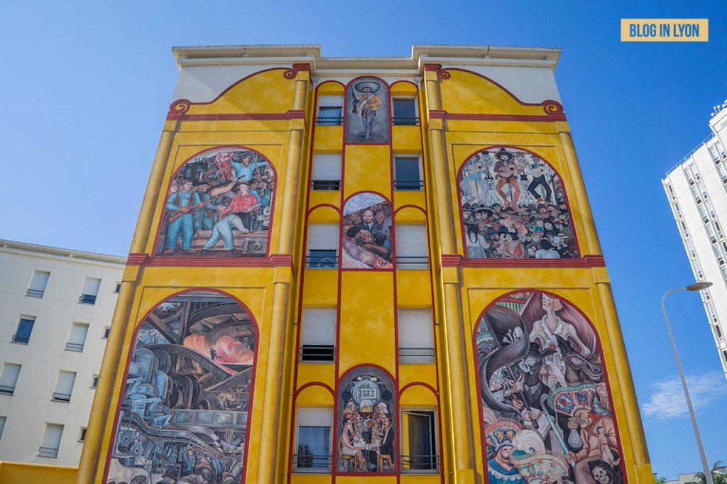 Fresques et murs peints - Rive Gauche - Fresque Diego Rivera   Blog In Lyon