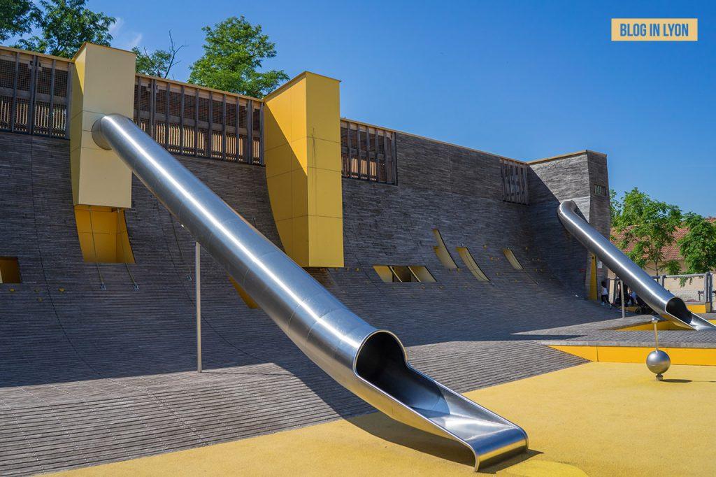 Visiter Lyon Fresques et murs peints - Parc Blandan   Blog In Lyon