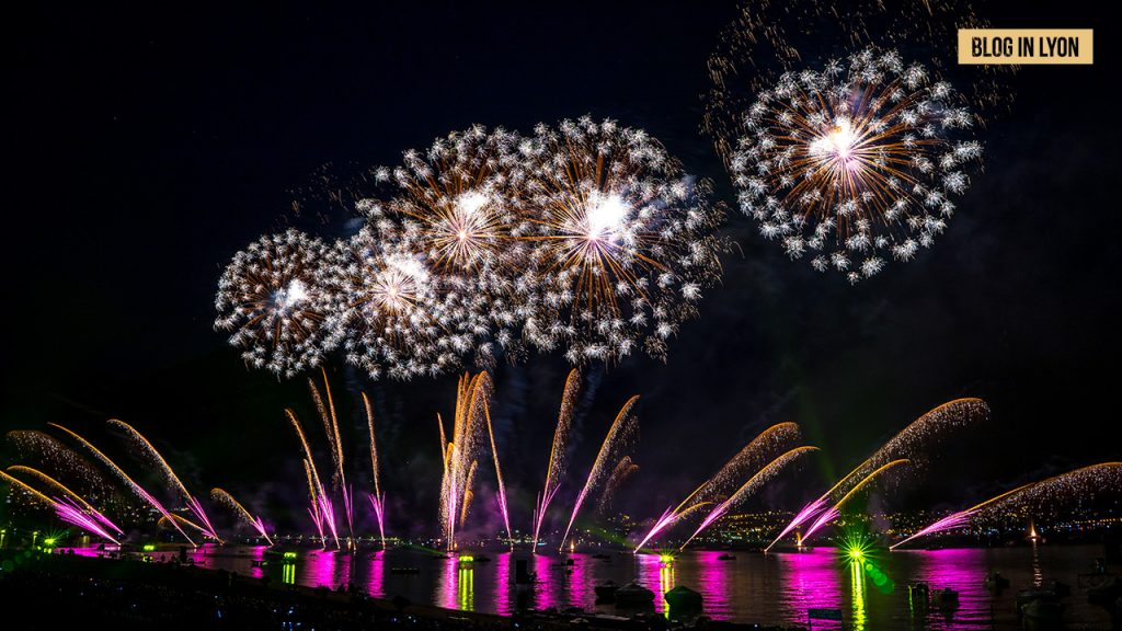 Feu d'artifice lac Annecy 2019 | Blog In Lyon