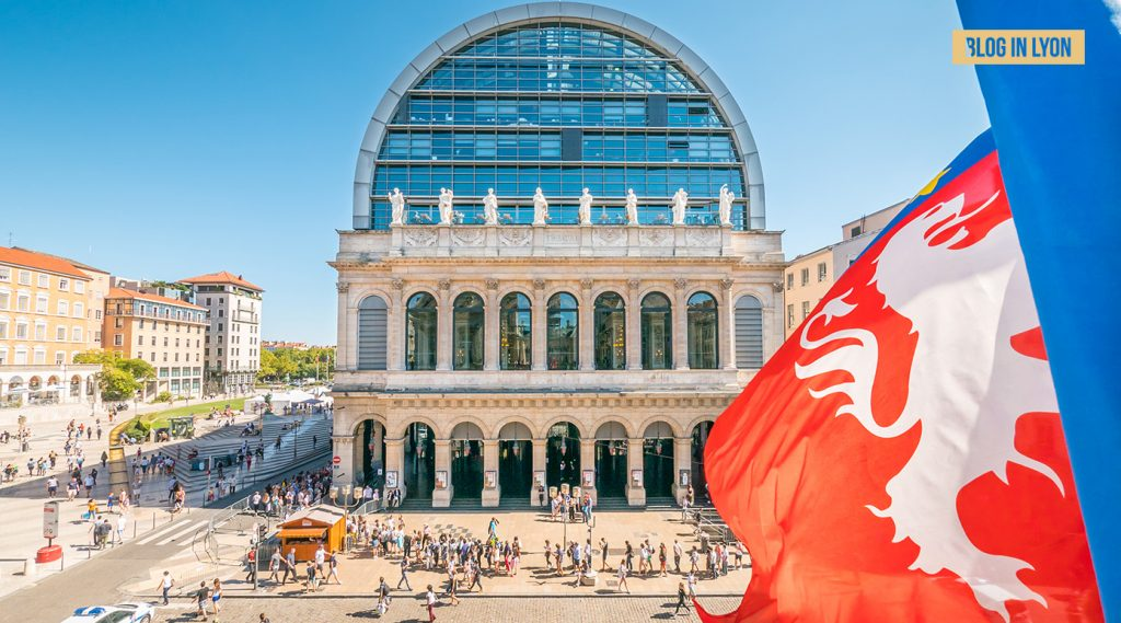 Opéra de Lyon - Fond écran Lyon | Blog In Lyon