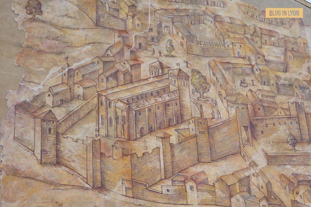 Fresque Basilique Saint Just - Top 15 des plus beaux murs peints de Lyon | Blog In Lyon