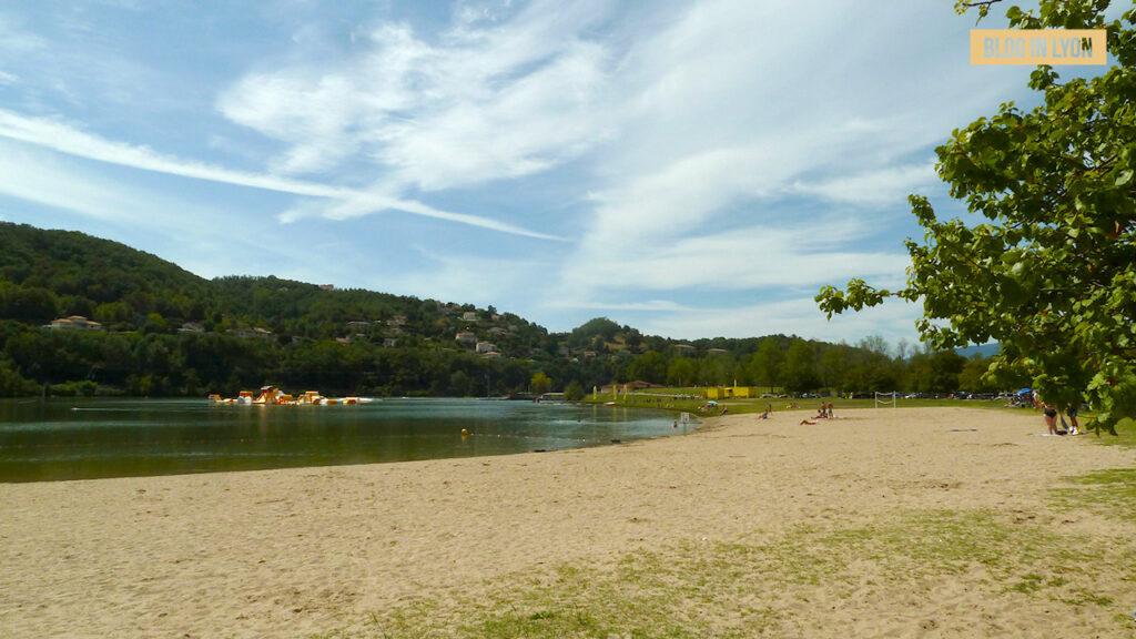 Où se baigner près de Lyon- Base Nautique Condrieu Les Roches | Blog In Lyon