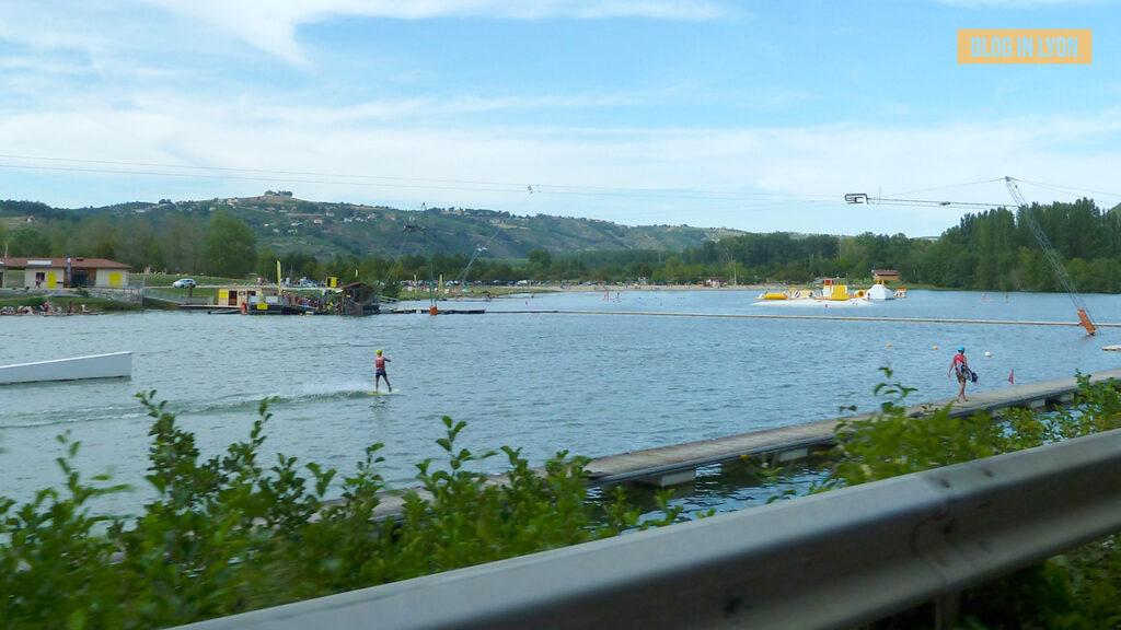 Où se baigner près de Lyon - Base Nautique Condrieu Les Roches | Blog In Lyon