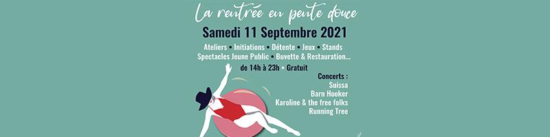 La rentrée en pente douce - Agenda Septembre 2021 | Blog In Lyon