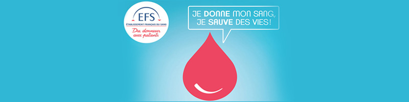 Agenda Octobre 2021 - Collecte Sang EFS   Blog In Lyon
